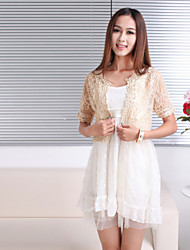 Party/Evening / Casual Tulle Coats/Jackets Short Sleeve Wedding  Wraps