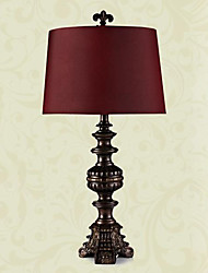 European Style Luxury Classic Table Lamp In Purple Shade(Large Size) 220-240V