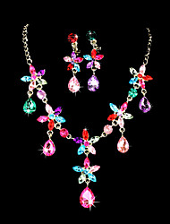 Women's Alloy Jewelry Set Rhinestone/Cubic Zirconia
