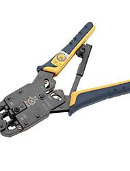 Crimps profissionais modulares, tiras e cortes de ferramenta com Ratchet [HT-2008AR]