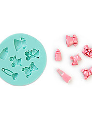 Baby Toys Shape Silicone Mould Cake Decorating Baking Tool