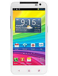 "U920 5.0 "" Android 4.2 Smartphone 3G (Due SIM Quad Core 13 MP 1GB + 4 GB Bianco)"