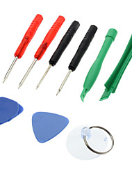 10-in-one Professional Disassembly Repairing Tool for iPhone HTC Nokia