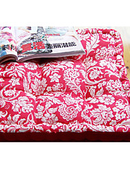 Modern Style 100% Cotton Red and Green Chair Pad