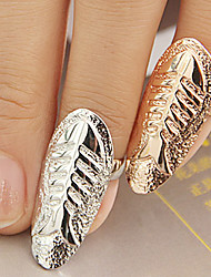 Fish Bone Finger Ring(Random Color)