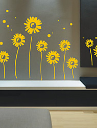 Sunflowers Group Wall Stickers
