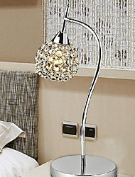 Modern Crystal Table Lamp In Plating Processes 220-240V