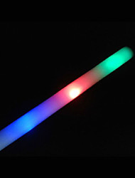 Wedding Décor Led Colors Changing Light Foam Stick -Set of 6