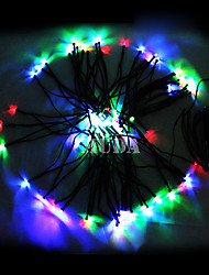 22M Colorful 200Led String Lights Blue Corn Decorazione di Natale Luce Fata (cis-57182)