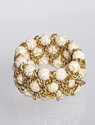 Rich Long  Alloy Fashion Vintage Knit Bracelet