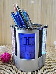 Colorful Digital Clock+ Timer+ Pen Holder