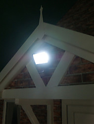 Solar Powered Led Flood Light - Motion Detection, Whit Pir Motion Sensor, Weatherproof(Cis-57131)