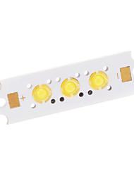 3W 200LM 6500K 3-LED Streetlight Emitter (9-11V)