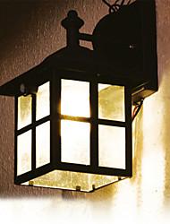 Blanc Solaire Lanterne solaire applique murale avec capteur de mouvement PIR Lampe (cis-57126)