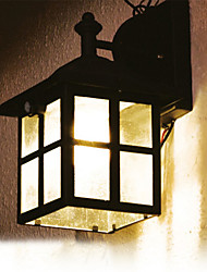 Solar Bianco Solare Lanterna Luce parete con PIR Motion Sensor lampada (cis-57126)