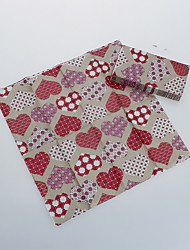 Loving Heart Napkins-Set of 5