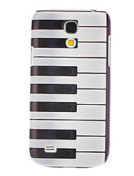 Piano Key Pattern Hard Case für Samsung Galaxy S4 Mini I9190