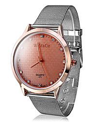 Women's Fashion Watch Imitation Diamond Quartz Band Sparkle Silver