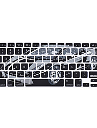 XSKN Silicon-Sport Car Laptop tampa da pele do teclado para MacBook Pro MacBook Air