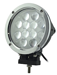60W 12 LEDs Round Work Light