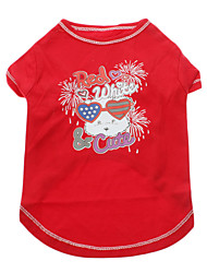 Cute Doggy Pattern T-Shirt for Pets Dogs (Assorted Sizes)