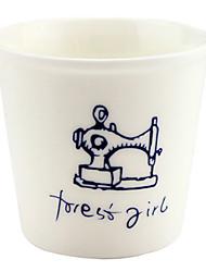 Sewing Machine Ceramic Cup