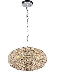 Kristall brillante 3 Pendelleuchte in Ellipsoid-Design (220V-240V)