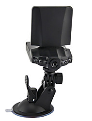 2.5 Inch Car DVR / Car Black Box with 6 LED Lights Motion Detection