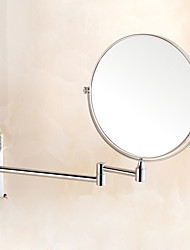 "8 ""Stainless Steel Folding Miroir salle de bains"