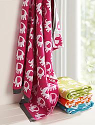 100% Cotton Onno Animal Rose Baby Blanket