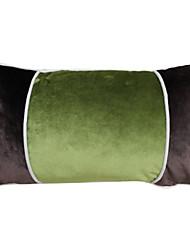 "18 ""Solid Polyester fronha decorativa moderna retangular"