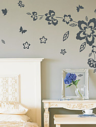 Floral Bloomy Wall Stickers