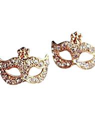 New böhmischen Diamant Ohrringe Blume Ohrringe Maske E486