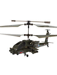 SYMA S109G AH-64 3.5 Channel Infrared Remote Control Mini Helicopter with Gyro (Army Green,6xAA)