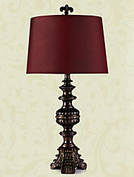 European Style Luxury Classic Table Lamp In Purple Shade(Small Size) 220-240V