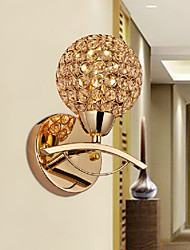 Minimalist Crystal Golden Wall Light Up Light 220-240V