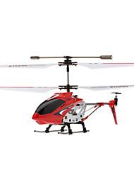 SYMA S107G 3 canal infravermelho controle helicóptero mini remoto com giroscópio SYMA s107