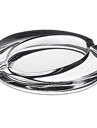 Creative Oval Glass Ashtray