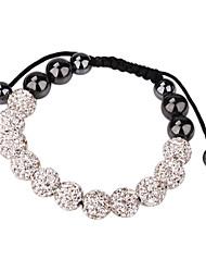 Women's Crystal Ball Bracelet (Assorted Color)