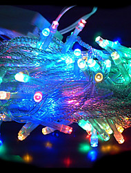 100 Led 10M Multicolour String Decoration Light For Christmas Party Wedding (Cis-84283A)