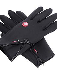 лыжные перчатки Полный палец Все Спортивные перчатки Сохраняет тепло Анти-скольжение Катание на лыжах Хлопок Лыжные перчаткиВесна Осень