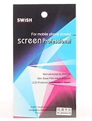 Hohe Transparente Anti-Kratz-Screen Schützer mit Reinigungstuch für iPhone 4 und 4S