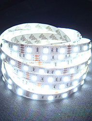 White Led Strip Light Non-waterproof 5M SMD 5050 300 LEDs/Roll + 12V 7A Power Adapter