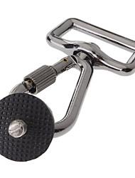 Stainless Steel Camera Fastener Hook Buckle - Grey