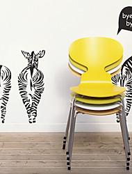 Suivez Zebra animaux Stickers muraux