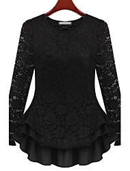 Women's Tops & Blouses , Lace Casual MFL