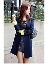 Women's Suits , Cotton Casual Wlst
