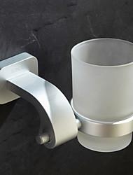 Contemporary Durable anodização acabamento porta-escovas