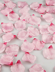 Gradient Artificial Rose Petals Table Decoration - More Colors (Set of 12 Packs , 100 Petals Per Pack) Coral Wedding