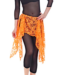 Sweet Performance Lace Belly Dance Skirt For Ladies(More Colors)
